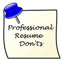 Resume_donts