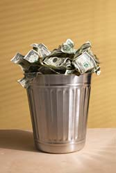 Money_in_trash_can
